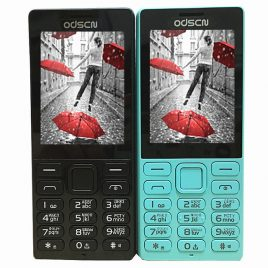 ODSCN 216 2.4 inch 860mAh Whatsapp FM Radio bluetooth Speaker Dual Sim Mini Card Phone
