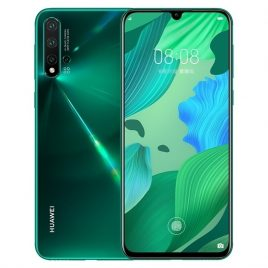 HUAWEI Nova 5 Pro 6.39 inch NFC 48MP Quad Rear Camera 8GB 256GB Kirin 980 Octa core 4G Smartphone
