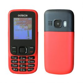 ODSCN 6303 1.77 inch 3000mAh FM Radio Whatsapp bluetooth Vibration Big Keys Dual SIM Card Dual Stand Feature Phone