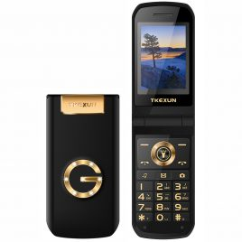 TKEXUN G9000 2.4 inch 3800mAh Touch Screen Magic Voice Speed Dial Vibration Dual SIM Card Feature Phone